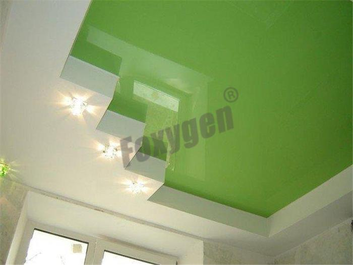 Interior Wall Covering And Drop Roof Ceiling Renovations Lackfoil Stretch Ceiling