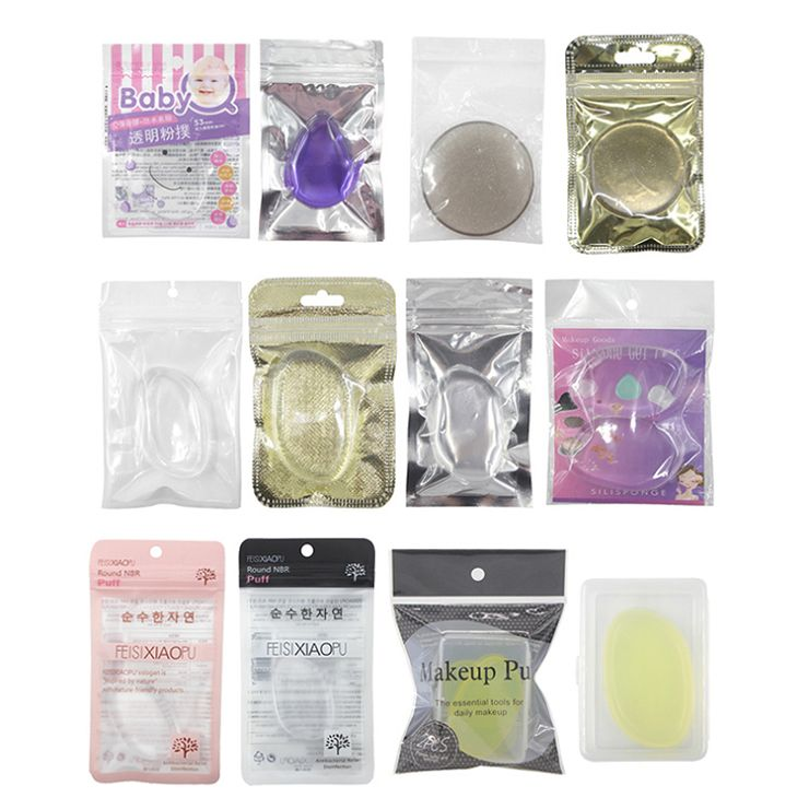 7. Package for small pink teardrop silicone makeup sponge beauty blender(001).jpg