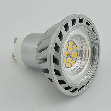 GU10 Lamp 5W SMD MR16 GU10 with 80CRI and Reflector Type CE RoHS