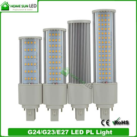Bombillas LED G24 PLC Tube Light 10W 220V 1000lm in Warm White or Cool White