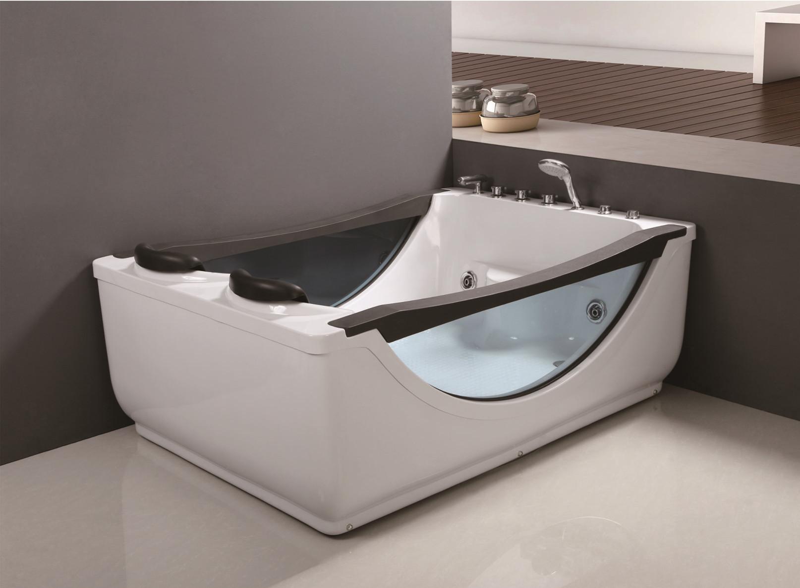 C-040 C-046 Роскошный белый черный АБС-стекло Горячая ванна Whirlpool Massage Jetted Bathroom Ванна с дешевой ценой для Sale.jpg