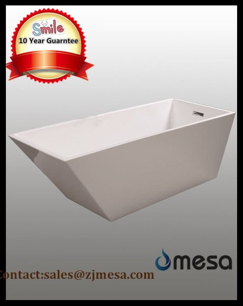 (3) MEC3010-- Simple Design Small Polish Chrome Corner Bath Tub with Angle.jpg