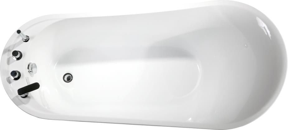 (3) MEC-3150--Acrylic Stand Alone Irregular Oval Soaking Bathtub MEC3150.jpg