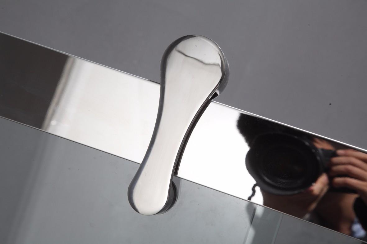 BXG-81 Hot Sale Simple Design Framed Stainless Steel Sliding Shower Door5.JPG