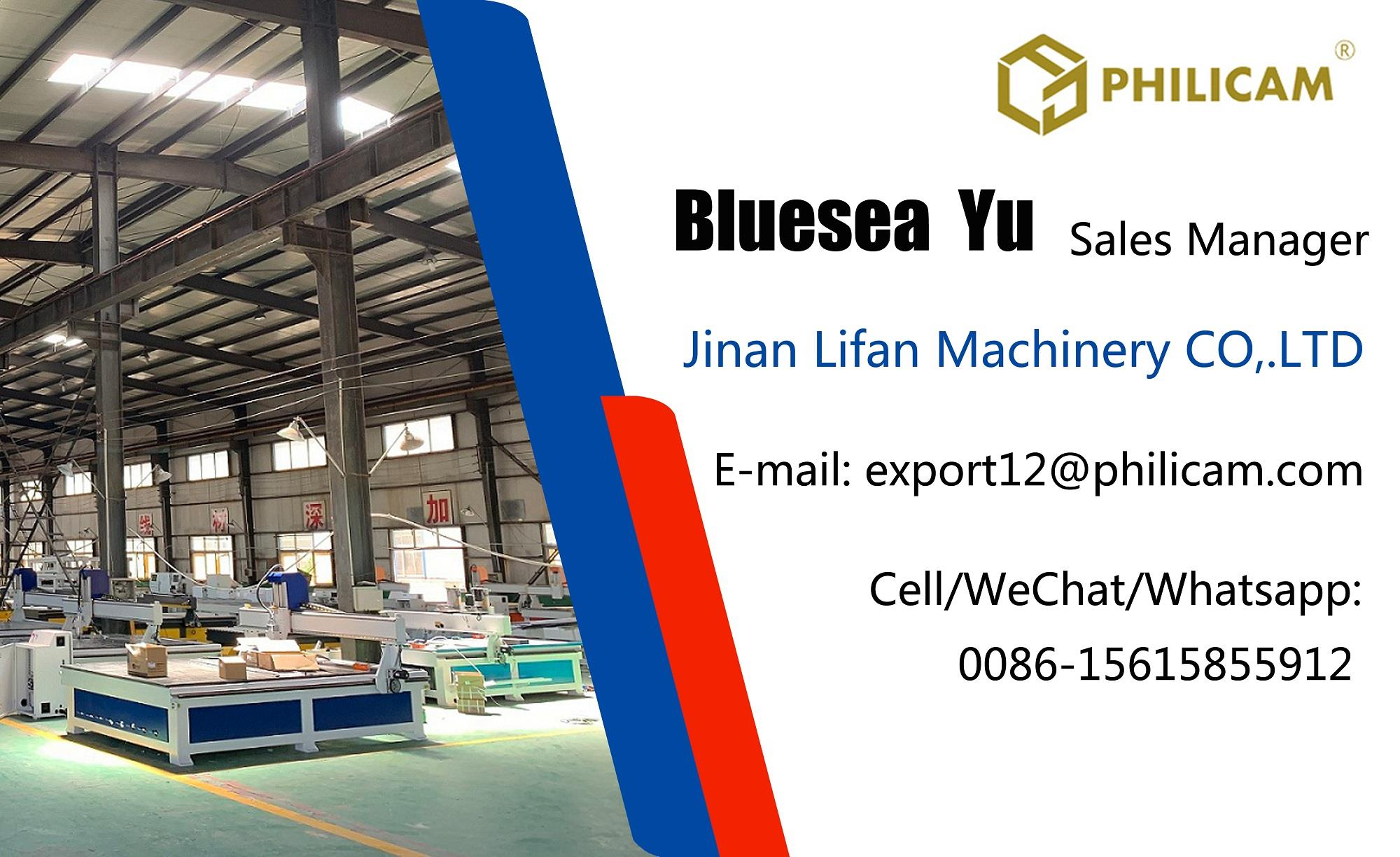 Philicam single head cnc router working