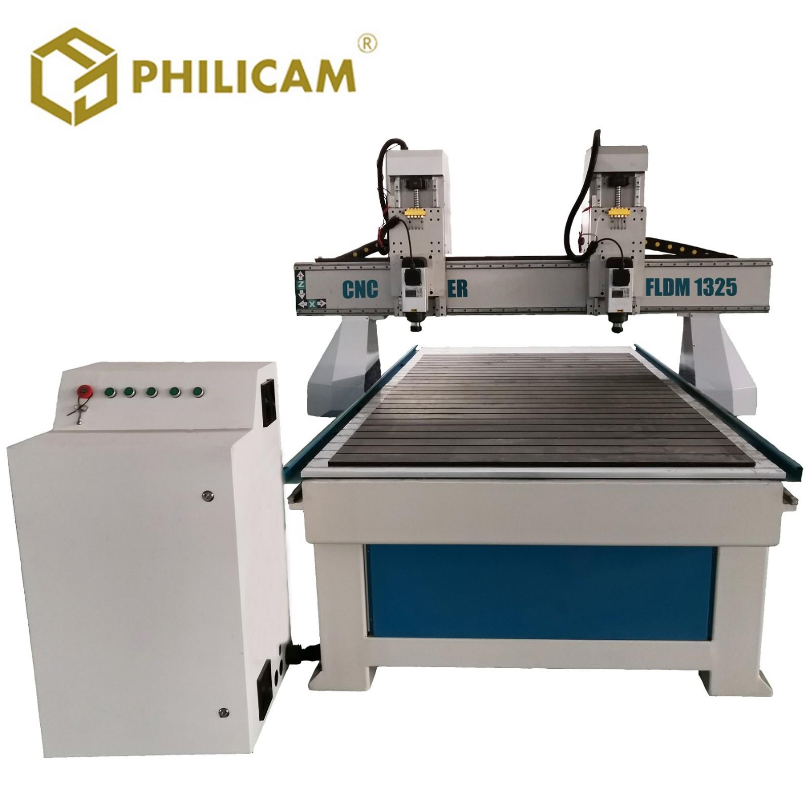 Philicam Double Head CNC Router