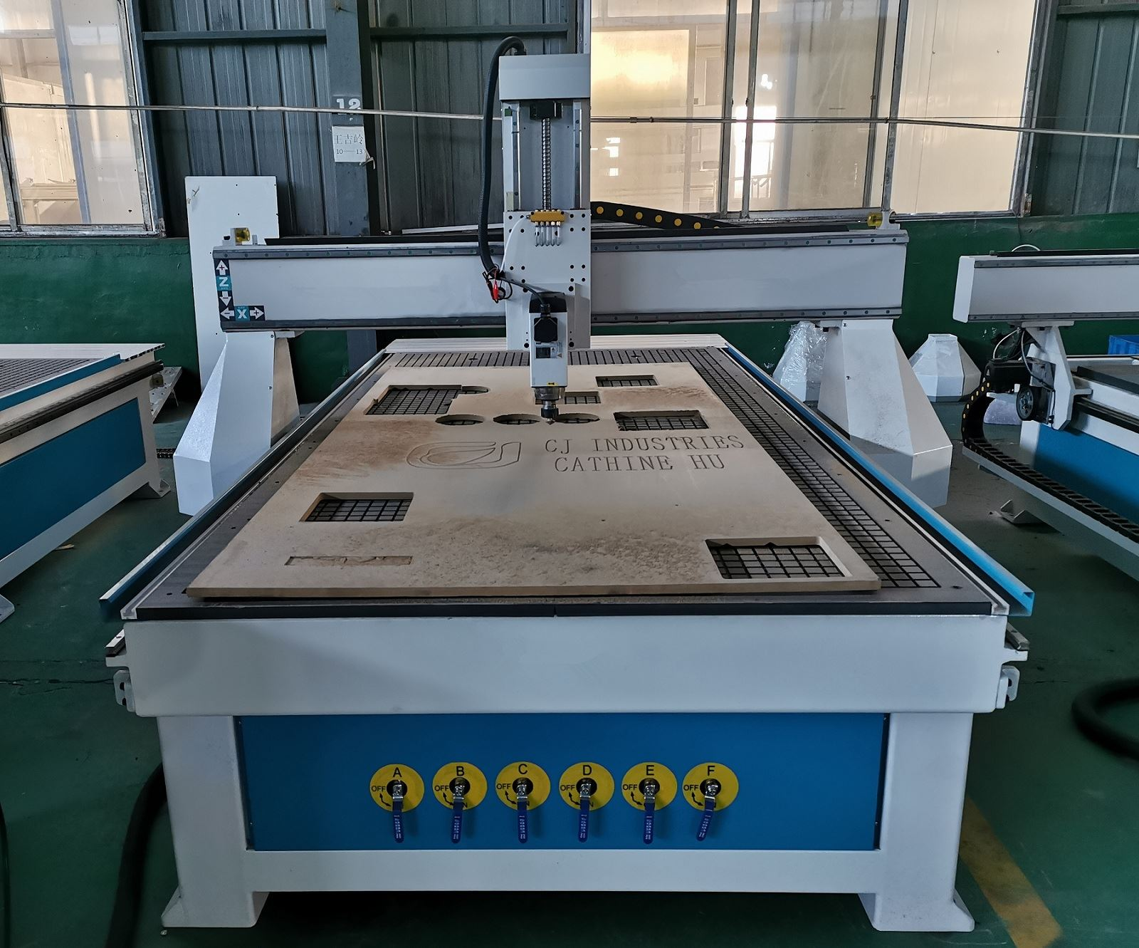 Vacuum Table Wood CNC Router