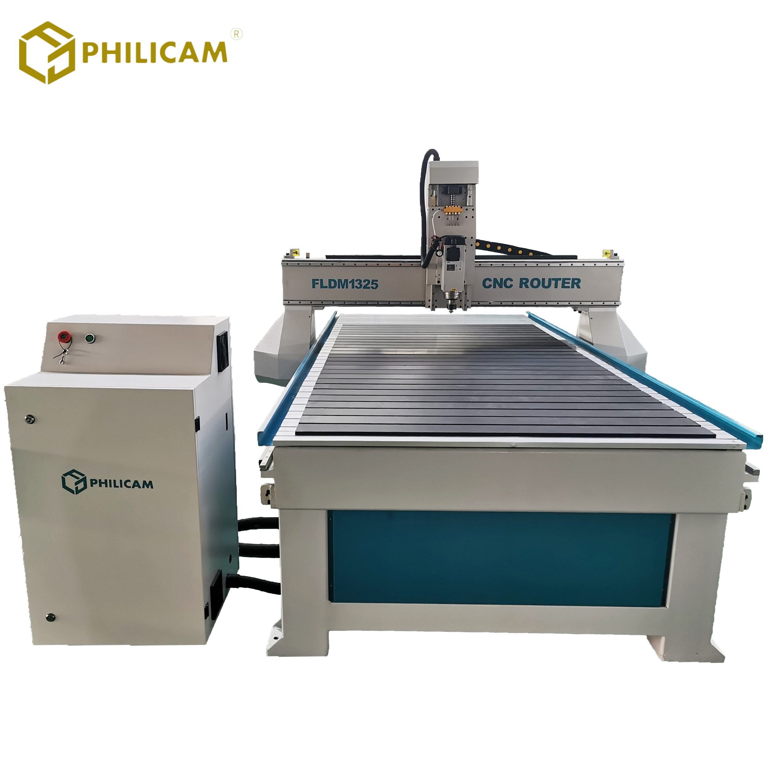 Single head cnc router