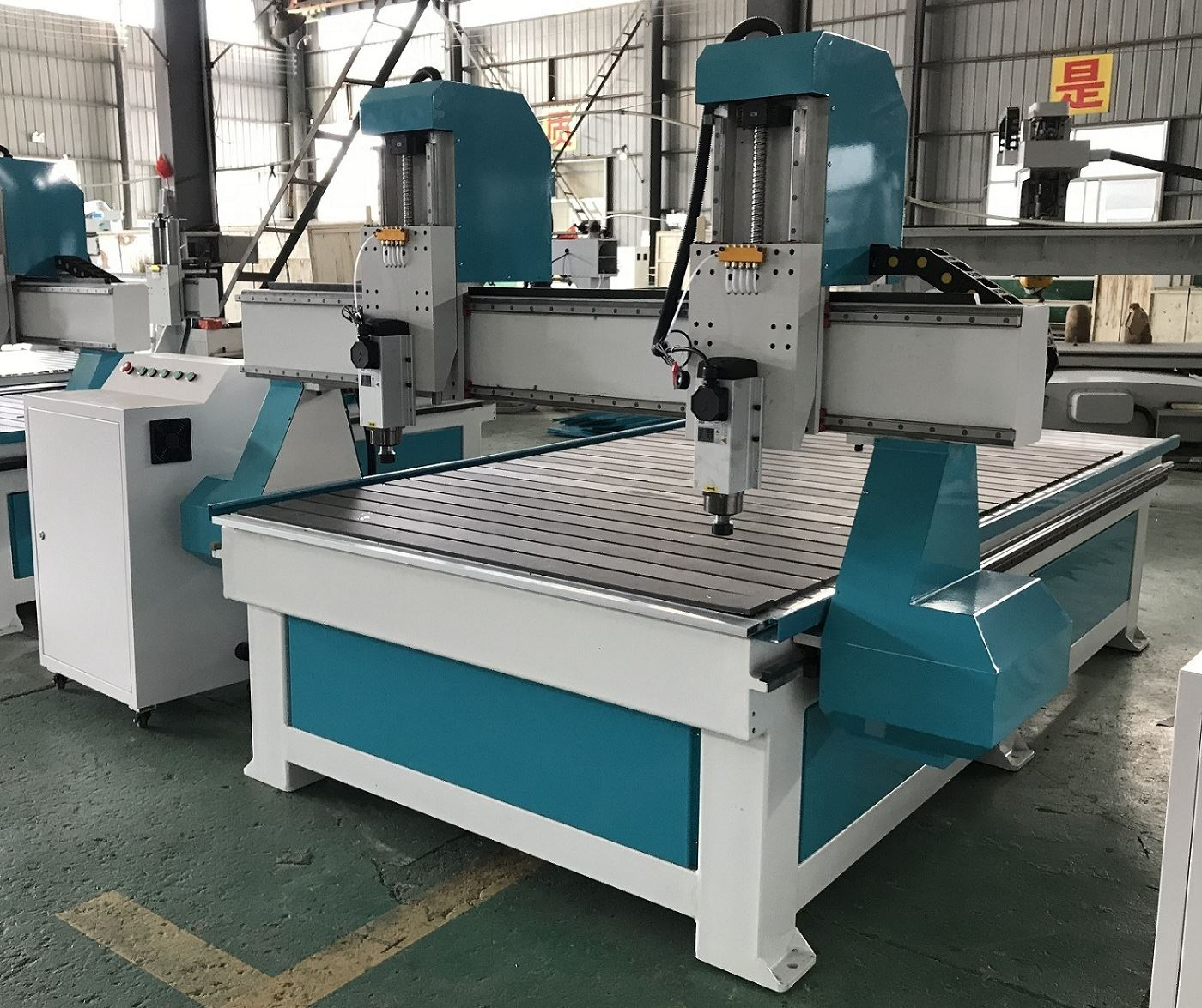 DOUBLE HEAD CNC Machine in India