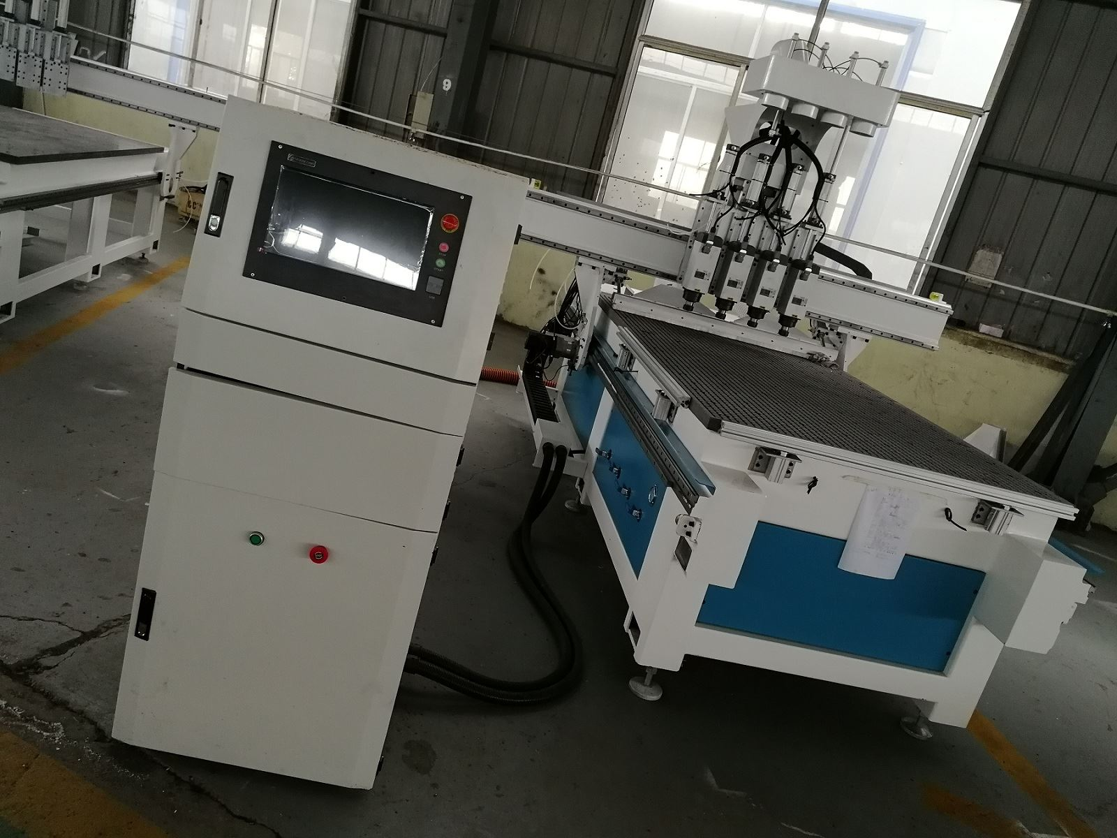 Four Spindle CNC Machine