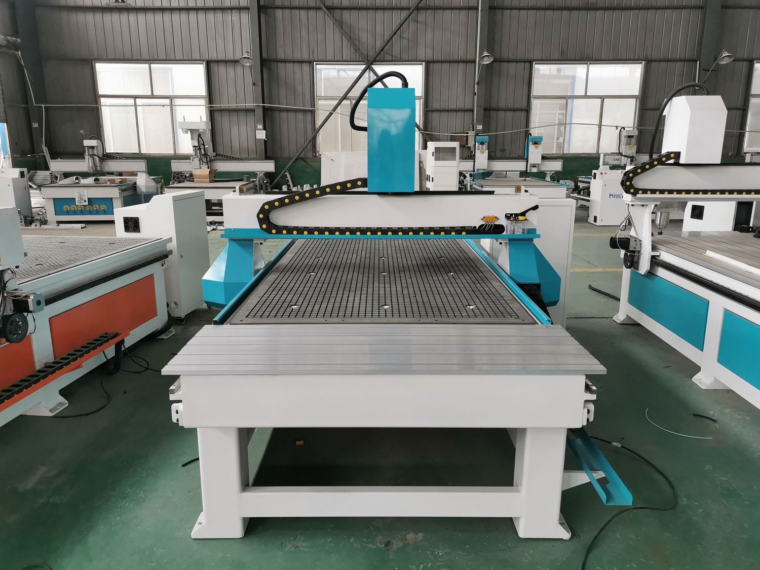 5.5kw Water Cooled Spindle Wood CNC